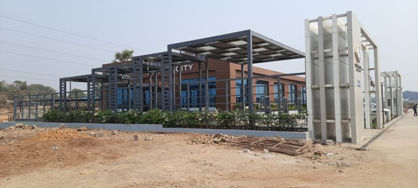 Suraksha Smart City sales office1